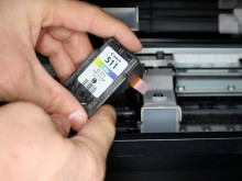 Canon printer does not detect the cartridge. What should I do?