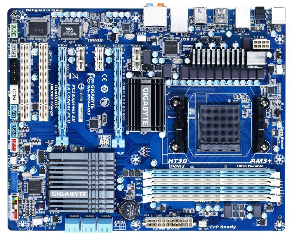Gigabyte GA-970A-UD3 Microsoft UAA Driver for Windows 7