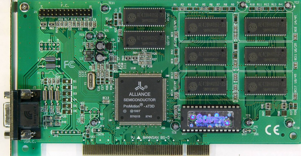 ALLIANCE SEMICONDUCTOR PROMOTION 6420 DRIVER
