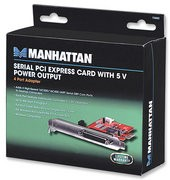 Manhattan 150682 Serial PCI Express Card
