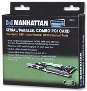 Manhattan 158251 Parallel PCI Card
