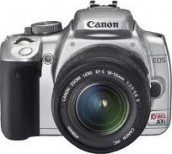 Canon Digital Rebel XTi Silver