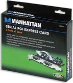 Manhattan 160452 Serial PCI Express Card