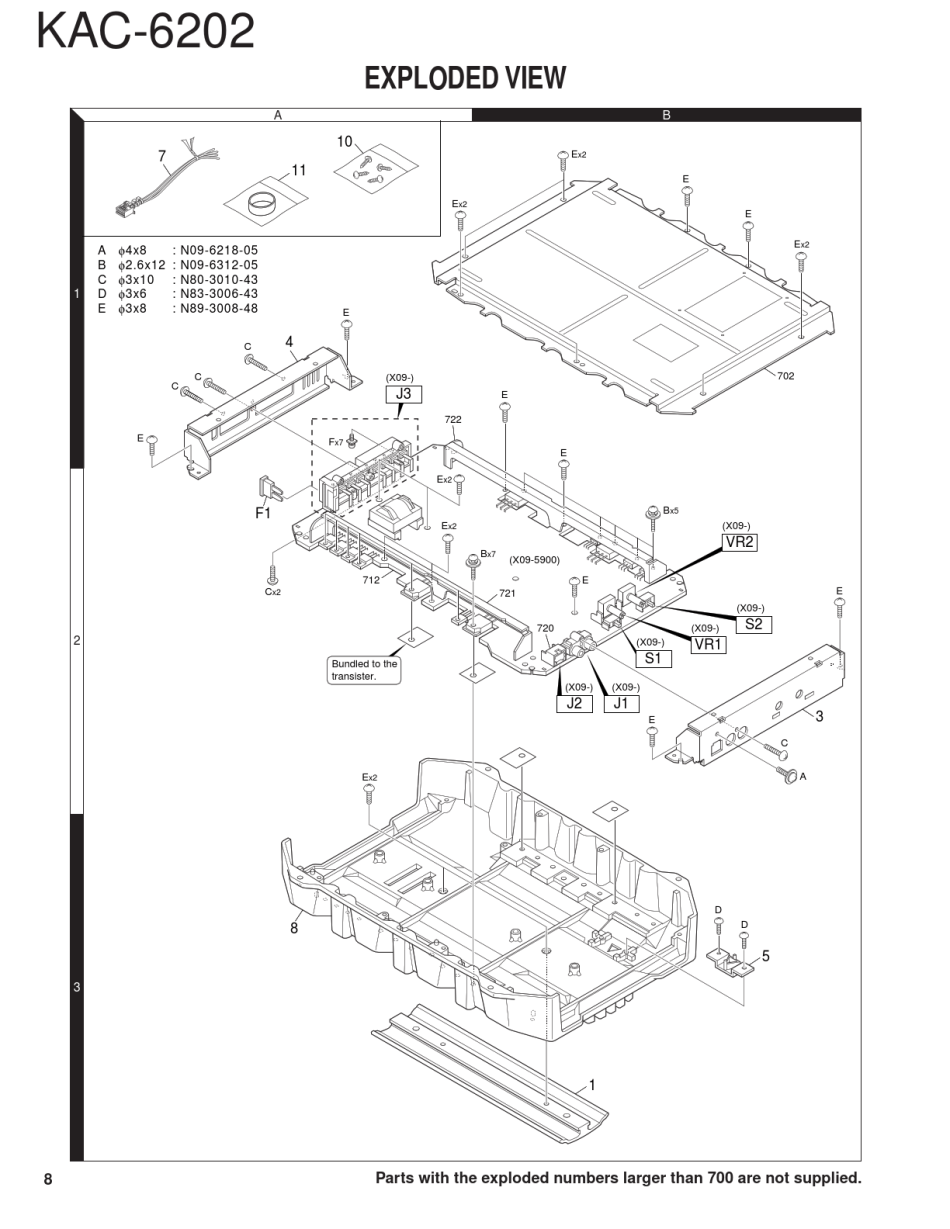 service manual kenwood kac