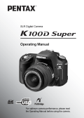 pentax k100d super user manuals download rh nodevice com Pentax K100D On Sale Pentax K100