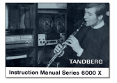 Tandberg 6000X user manuals download